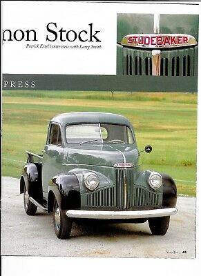 1941 STUDEBAKER M5 COUPE EXPRESS 4 page Article