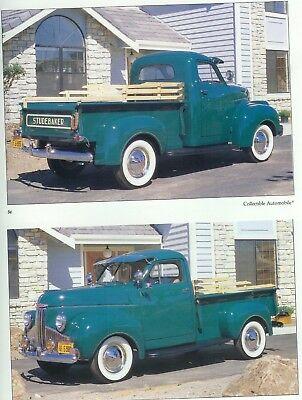 1947 STUDEBAKER M-5 Coupe Express PICKUP 4 pg Article