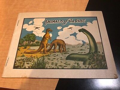 Vintage Medicine Brochure, Dr. Miles Nervine, Animals of the Past, Dinosaurs