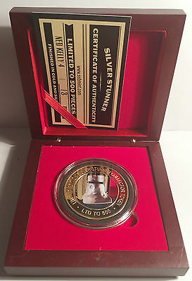 NEW 2016 Ned Kelly #4  Silver Stunner Coin & Display Box C.O.A. LTD 500