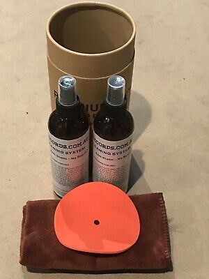500ml 2x 250ml Anti static Spray Vinyl LP Record Cleaner Cleaning Fluid +CLOTH +