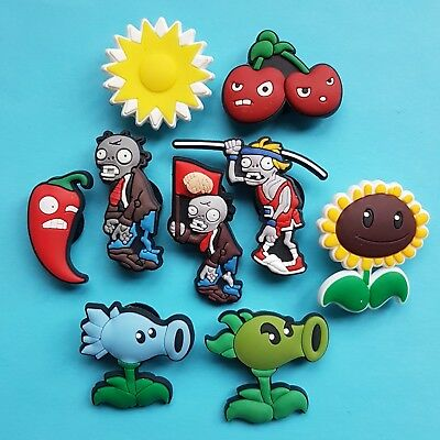 Plants vs Zombies Cake Decorations x 9 Cupcake Toppers Garden Warfare NEW