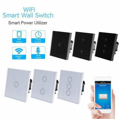 Sonoff 1/2/3 Gang WiFi Smart Panl Home Switch APP Remote Control Touch Panel