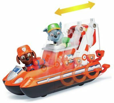 PAW Patrol Ultimate Rescue Zuma Hovercraft And Figure Nickelodeon FREE Fast P&P