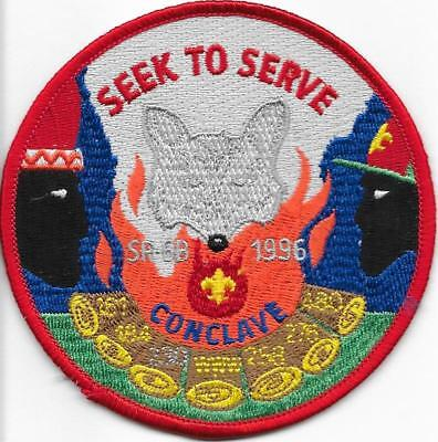 1996 R Section SR-6B SR6B Conclave Order of the Arrow Area Kentucky KY OA