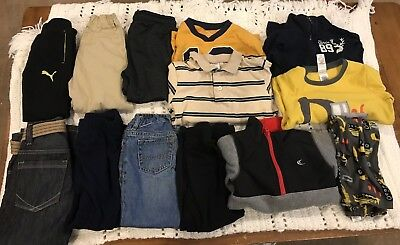 Lot Of Boys Clothes Size 4T