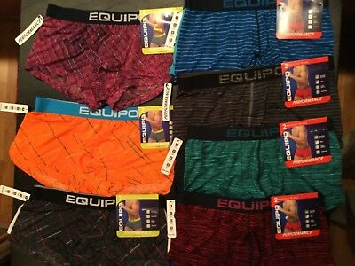 2 Equipo Brazilian Trunks Performance Pattern Men New Tags Various Colors Stripe