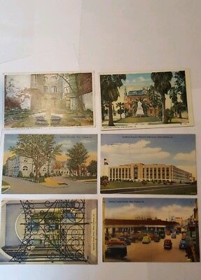 Lot of 18 Linen And Pre Linen New Orleans LA postcards With 4 Mardi Gras