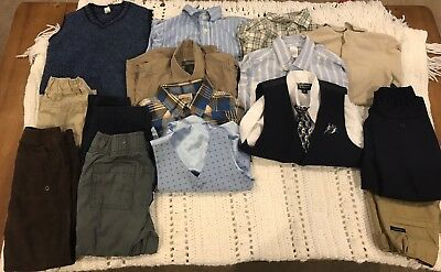 Lot Of Boys Dress Clothes Size 4T