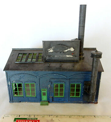 For Model Train Collectors...building...'factory'