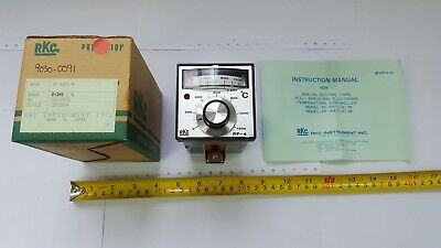 RKC PF-4 Electronic Temperature Controller 0-1200C 120/240V PF-4A1C-M - New