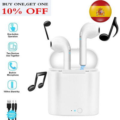 Airpods i7S TWS Auricular inalámbrico Bluetooth Auriculares para iphone android