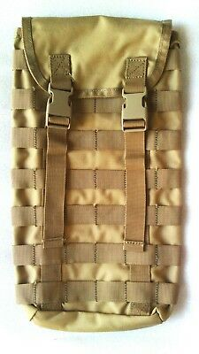 Tas Molle Hydration Pouch Khaki + Free!! 2Lt Wide Mouth Bladder Mil Spec - 3699