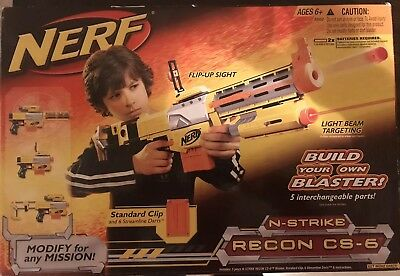 NERF N-STRIKE RECON CS-6 FACTORY SEALED New in box, never opened .