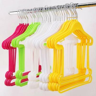 5PC Plastic Kids Clothes Hangers Baby Trouser Coat Bar Drying Rack Home PRO  .