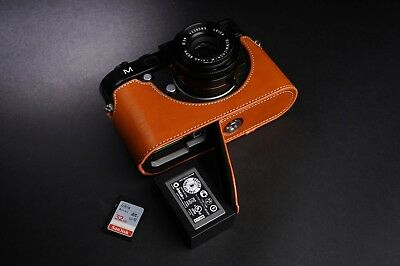 Real Leather Half Camera Case Bag Cover for Leica M M240 M246 M-P MM MP M262
