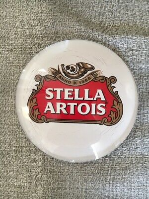 Qty 2 Stella Artois Medallion Badge 3 inch Beer Tap Faucet Tower Advertisement