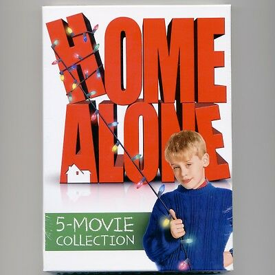 Home Alone: 5-Movie Collection, 5-disc DVD set, PG 2017 family Christmas comedy