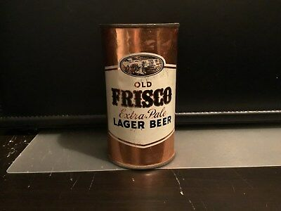 Frisco Lager Beer (67-10) flat top beer can by General, San Francisco, CA