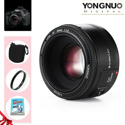 Yongnuo YN 50MM F1.8 Large Aperture Auto Focus Prime Lens for Canon EF Mount EOS