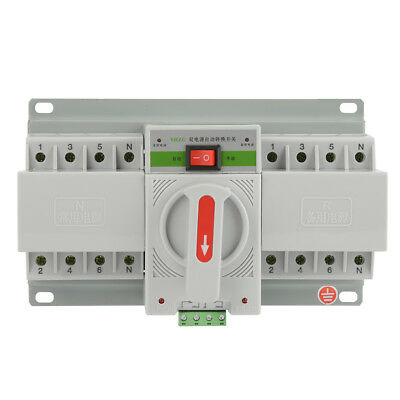 220V 63A 4P Mini Dual-Power Automatic Transfer Switch Schalter Circuit Breaker