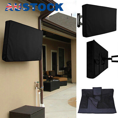 32 Inch Dustproof Waterproof TV Cover Outdoor Patio Flat Television Protector T
