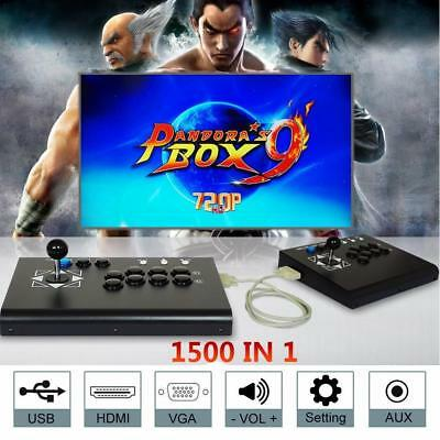 2018 Separable 1500 Games Pandora Box 9 Video Double Stick Split Arcade Console