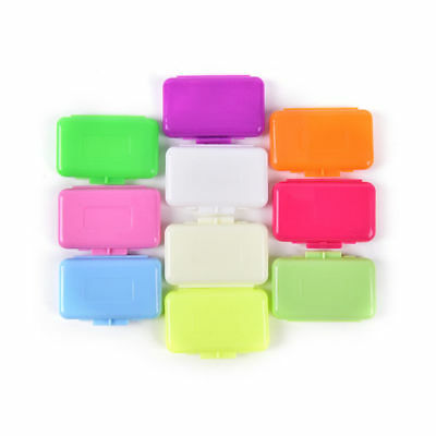 500 Packs Dental Orthodontic Ortho Wax Mixed Scents For Braces Gum Irratation