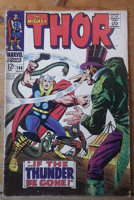 The Mighty Thor 146 Marvel comics 1967 VG (?) cents copy