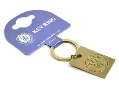 Chelsea Football Club Official Metal Vintage Crest Key Ring Chain Badge