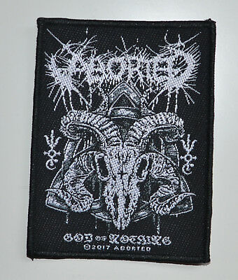 ABORTED - God Of Nothing - 7,8 cm x 10,3 cm - Patch - 164735