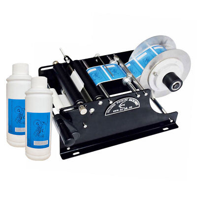 Manual Labeling Machine Semi Automatic Round Bottle Packing Machinery By Hand