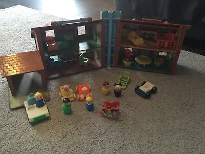 Fisher Price Little People Vintage Familienhaus Haus
