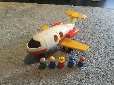 Fisher Price Little People Vintage Flugzeug