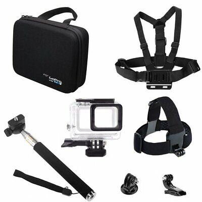 Storage Bag Underwater Case Chest Head Strap Belt Kit For GoPro Hero 7 6 5 Black