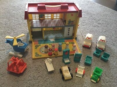 Fisher Price Little People Vintage Krankenhaus