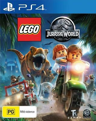Lego Jurassic World PS4 Playstation 4 Game  Brand New In Stock FREE POSTAGE