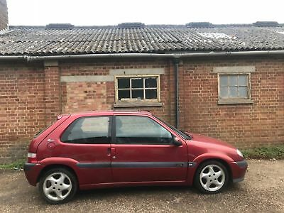 Citroen Saxo VTS 100% Original+Rust Free Car+Barn Find+Dry Stored +Low Mileage
