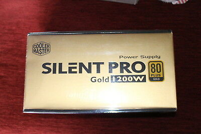COOLER MASTER Silent PRO GOLD 1200W - 80 Plus Gold