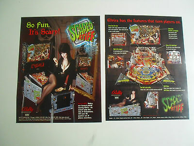 Neuer Flyer für Scared Stiff Bally / Williams Flipper Pinball