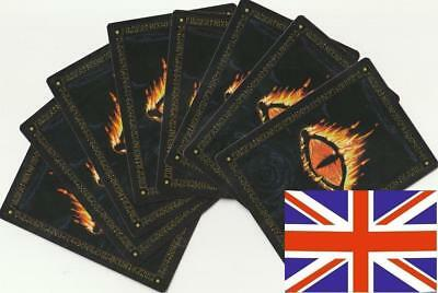 🏮 Middle Earth CCG - Lot of 100 cards (The White Hand) English 🏮