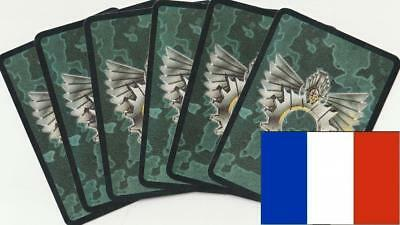 🏮 Doomtrooper CCG - Lot of 100 cards (Paradise Lost) French🏮