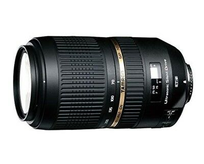 [NEW] TAMRON zoom lens SP70-300 mm F4-5.6 Di VC USD full size compatible A005E