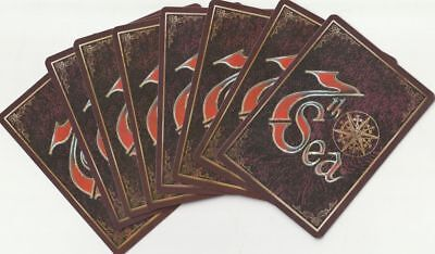 🏮 7th Sea CCG - Lot of 100 cards Fixed (Black Sails) English🏮