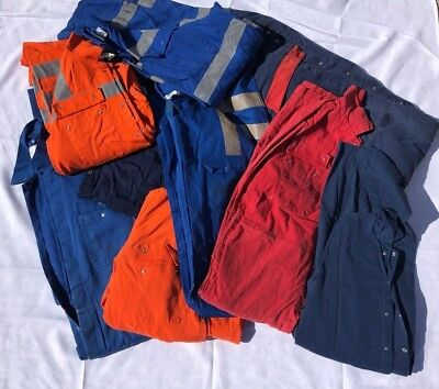 Pack Of 10 Grade 2, Ex-Rental Overalls-Boiler Suits(Please Select Size)
