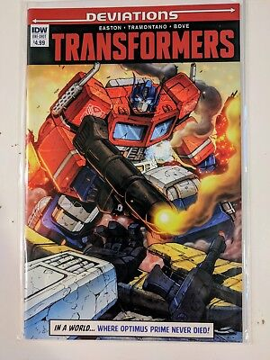 Transformers Deviations IDW #1 2016 Comic Book