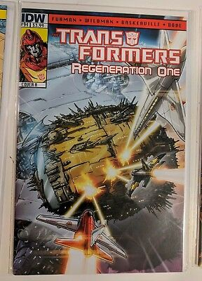 IDW Transformers Regeneration One #94 Comic Book