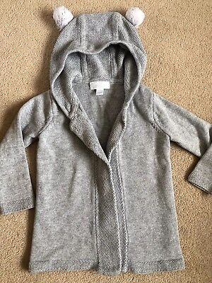 Little White Company Cardigan Age 9-12 Months
