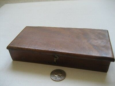 Antique Wooden Box with Assorted Brass Weights - W & T Avery Birmingham England