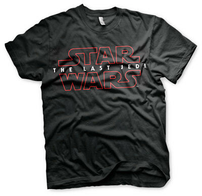 SALE ! Officially Licensed Star Wars - The Last Jedi Logo Men's T-Shirt L, XL